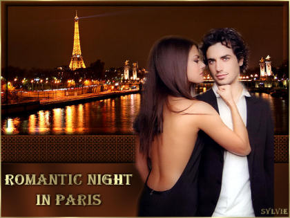 Tutoriel traduction romantic night in paris tag de jeannette for Romantic evening in paris